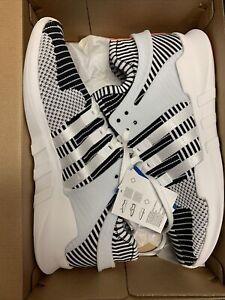 adidas EQT Support ADV PK Zebra Oreo White Black Turbo Size 13 BA7496