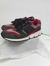 Mens New Balance Trainers Red Black Laces Size 9.5