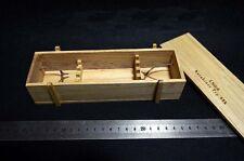 """1/6 WWII German 98K Gun Rifle Weapon Storage Wooden Case Box for 12"""" Figures"""