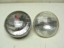 """(2) Used Original 1960 - 67 T3 T-3 Headlight 5 3/4"""" Diameter Good Shape Tested."""