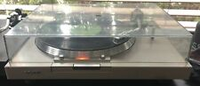 New listing Vtg Sony T1 Direct Drive Turntable with Dust Cover
