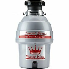 WasteKing L-3300 Legend Series 3/4 Hp Continuous Feed Operation Garbage Disposer