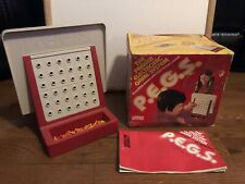 Vintage Parker Brothers P.E.G.S Pegs Electronic Game System 1978, Working