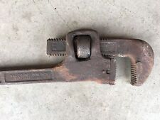 "Vintage 24"" WALCO PIPE WRENCH Walworth Tool Company Steel Made in USA Pipefitter"