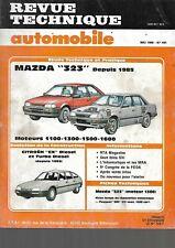 revue technique mazda 323 - citroen cx diesel et turbo diesel