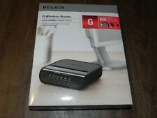 Belkin G Wireless Router For Basic Home Connectivity