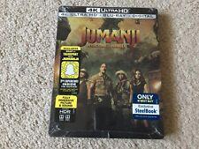 Jumanji: Welcome to the Jungle (4K Ultra HD/Blu-ray/Digital)Steel Book Best Buy