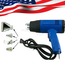 Adjustable Hot Air Heat Gun Blower 1500W Removing Paint Tool&4 Nozzles 110V/220V