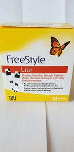 FreeStyle Lite Blutzuckerteststreifen 2 x 50 Stück (100 Packung) - OVP