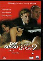 PER SESSO O PER AMORE ? (2005) con Monica Bellucci - DVD EX NOLEGGIO BIM