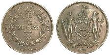 NORD BORNEO BRITISH NORTH BORNEO 1 CENT 1887 H KM#2 #6537A