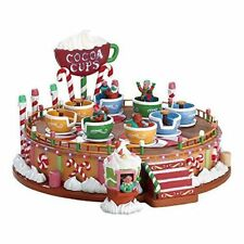 Lemax Christmas - Spinning Cocoa Cups Ride - NIB