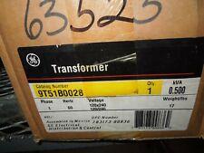 Ge 9T51B0028 0.500Kva/500Va 120x240-120/240V 1ph Transformer Surplus As Is Bent*
