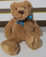 1300 FLOWERS TEDDY BEAR PLUSH TOY! FLUFFY SOFT TOY ABOUT 17CM SEATED KIDS TOY!