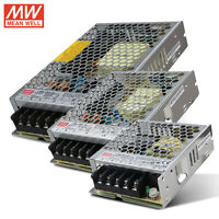 Alimentatore Trasformatore 12V 24V Mean Well LRS 15W 35W 50W 75W 100W 150W LED