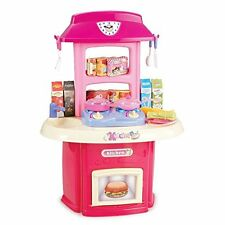 Portable fingere CUCINA Bambina Gioco Divertente Giocattolo Cucina Bambina Set Accessori + Spiner