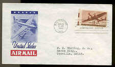 C28  15c AIR MAIL BALTIMORE, MD UNLISTED IOOR CACHET