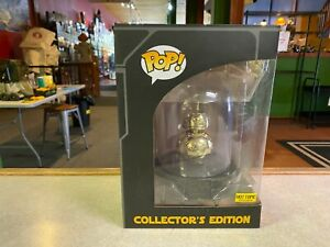 Funko POP! Deluxe Star Wars Collector's Edition HOT TOPIC GOLD BB-8