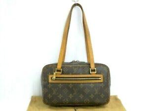 Auth LOUIS VUITTON Shoulder Bag Cite MM M51182 Monogram France 41170265400 G