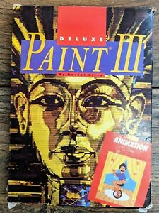 Deluxe Paint III Software for the Commodore Amiga