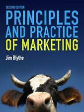 Principles and Practice of Marketing by Jim Blythe (Paperback, 2009)