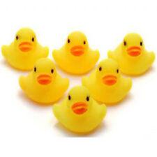 8 Amarillo Baño Flotante Patos de Goma Patos De Baño Juguetes barcos tiempo Juguete Bebé Niños Regalo