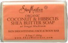 Shea Moisture Organic Coconut - Hibiscus Shea Butter Soap 3.5 oz