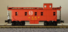 Atlas 3563 - ATSF 2219 - Santa Fe - 34' Steel Caboose with MTL Trucks