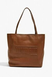 SO HOT COUNTRY ROAD HERITAGE LEATHER SHOPPER - TAN FREE POST