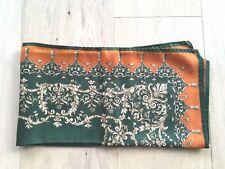 TUCH SCHAL Grün Orange scarf Kopftuch Hijab facolete satka fejkendo valalui