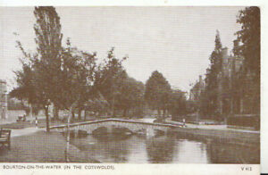 Gloucestershire Postcard - Bourton-on-The-Water [In The Cotswolds] - Ref TZ5937