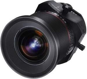 Samyang 24mm F3.5 Tilt & Shift ED AS UMC Fuji X Full Frame Camera Lens