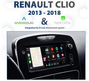 Renault Clio R-Link  / MediaNAV Android Auto & Apple CarPlay Integration