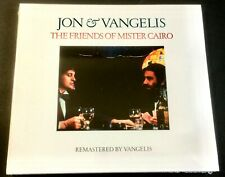 Jon and Vangelis -  Friends of Mister Cairo - NEW CD (sealed)  Remastered 2016