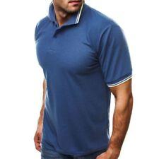 Camicie casual e maglie da uomo in misto cotone taglia XXXL