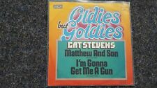 Cat Stevens - Matthew and Son/ I'm gonna get me a gun 7'' Single