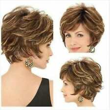 Hot Style Fashion wig New Charm Women's Short Brown Blonde Natural Hair wigs