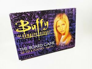 Buffy The Vampire Slayer Board Game For 14 & Over, Up To 8 Players - Complete