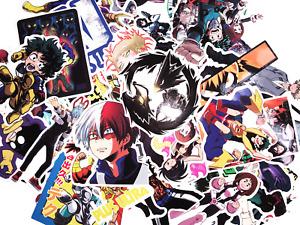 10 Random My Hero Academia Anime Vinyl Stickers Boku No Hero - Fast US Shipping