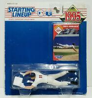 CHUCK KNOBLAUCH Starting Lineup MLB SLU 1995 Action Figure &Card Minnesota Twins