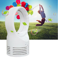 Mini Bladeless Fan Sleeping Electric Cooling Super Quiet Two Speed Air Fans