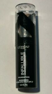 L'OREAL Infallible Foundation Shaping Stick 411 Chestnut  *UNSEALED/EXPIRED*