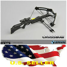 ❶❶ZY 1/6 Crossbow Set Arrows Walking dead Daryl Dixon Soldiers military Weapon❶❶