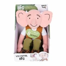 Roald Dahl Whizzpopping BFG Plush Toy | Big Friendly Giant Plush with Sound FX