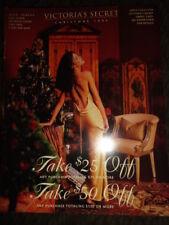 Vtg Victoria's Secret catalog 1994 Stephanie Seymour Karen Mulder Yasmeen Ghauri