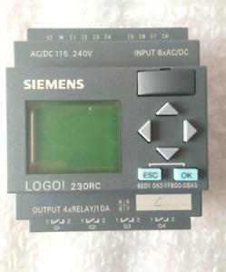 1PCS Used Siemens LOGO 6ED1052-1FB00-0BA5  Tested Free Shipping