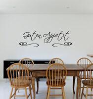 Wandtattoo Küche GUTEN APPETIT ,Esszimmer,Spruch für die Wand,Sticker,Wallart