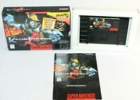 Killer Instinct SNES Super Nintendo Complete CIB Authentic & Tested! Good Shape!
