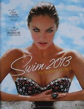 CANDICE SWANEPOEL Swim 2013 VICTORIA'S SECRET Catalog Volume 1 No 1