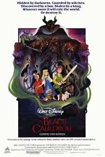 THE BLACK CAULDRON Movie POSTER 27x40